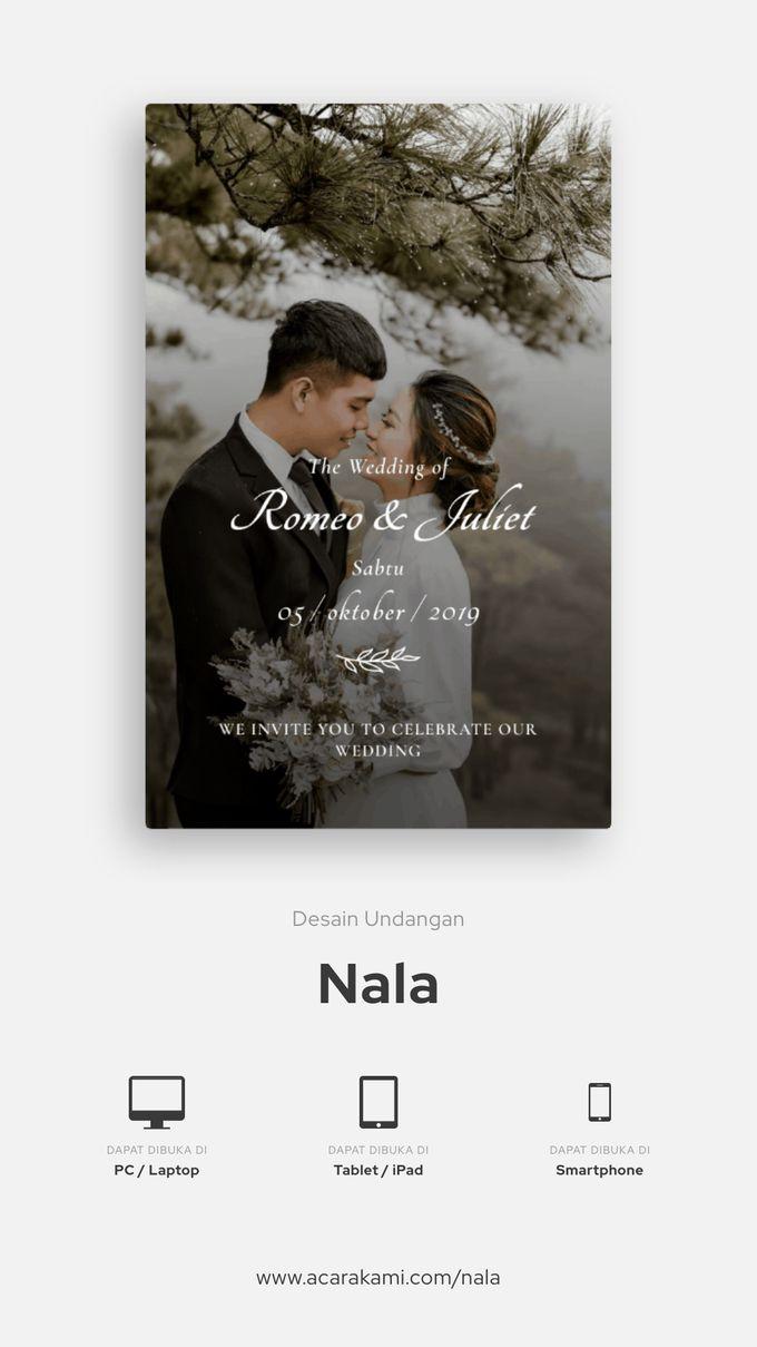 Adi Chan & Anita Wedding - Undangan Online Desain Nala by Acarakami.com - 002