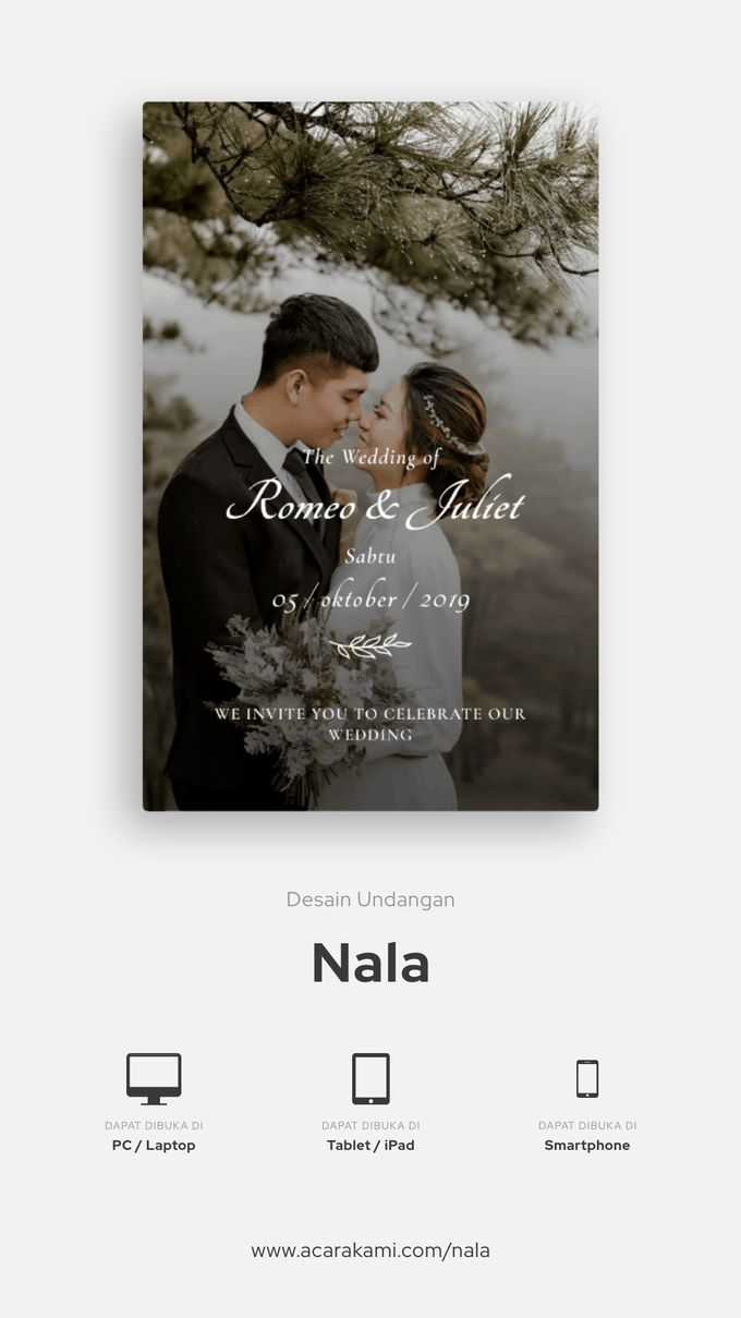 Imam & Fani Wedding - Undangan Online Desain Nala by Acarakami.com - 002