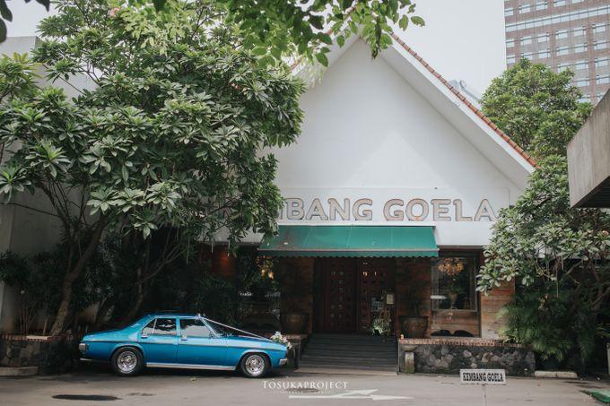 Nana & Bram Wedding Day at Kembang Goela Restaurant - Jakarta Selatan by Cassia Decoration - 031