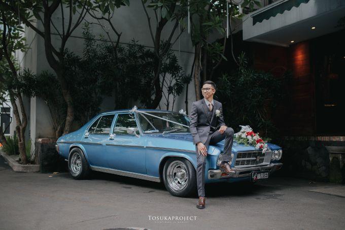 Nana & Bram Wedding Day at Kembang Goela Restaurant - Jakarta Selatan by Cassia Decoration - 012