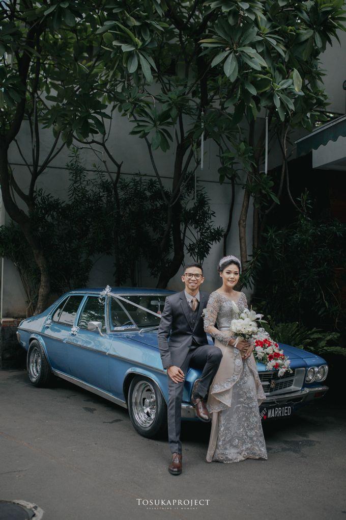 Nana & Bram Wedding Day at Kembang Goela Restaurant - Jakarta Selatan by Cassia Decoration - 011