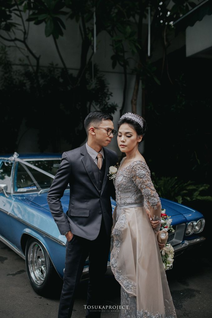 Nana & Bram Wedding Day at Kembang Goela Restaurant - Jakarta Selatan by Cassia Decoration - 010