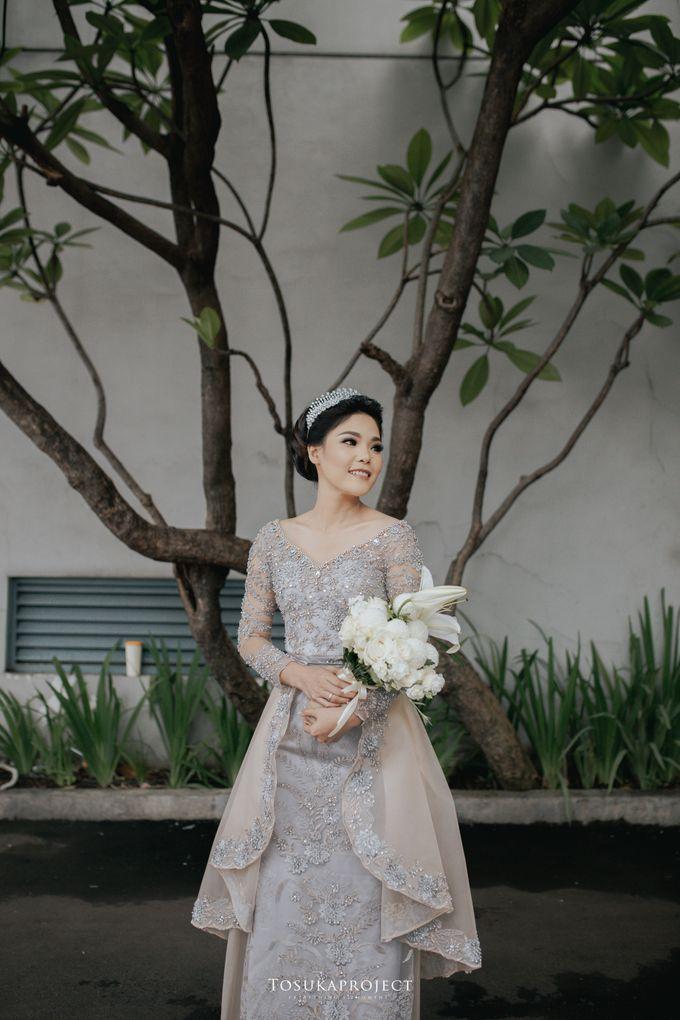 Nana & Bram Wedding Day at Kembang Goela Restaurant - Jakarta Selatan by Cassia Decoration - 009