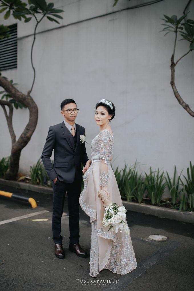 Nana & Bram Wedding Day at Kembang Goela Restaurant - Jakarta Selatan by Cassia Decoration - 007