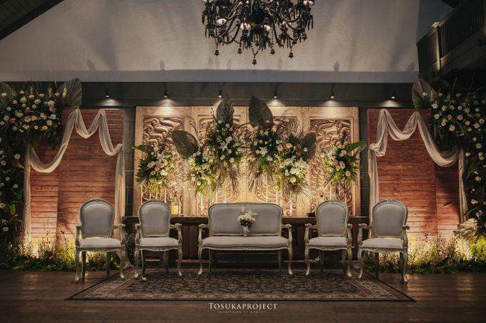 Nana & Bram Wedding Day at Kembang Goela Restaurant - Jakarta Selatan by Cassia Decoration - 027