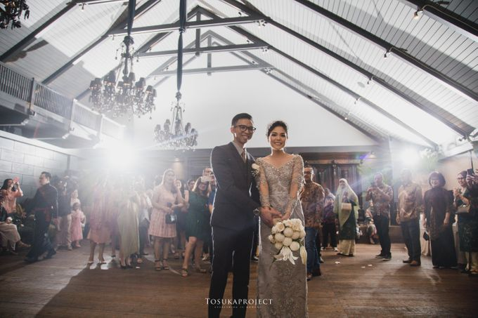 Nana & Bram Wedding Day at Kembang Goela Restaurant - Jakarta Selatan by Cassia Decoration - 001