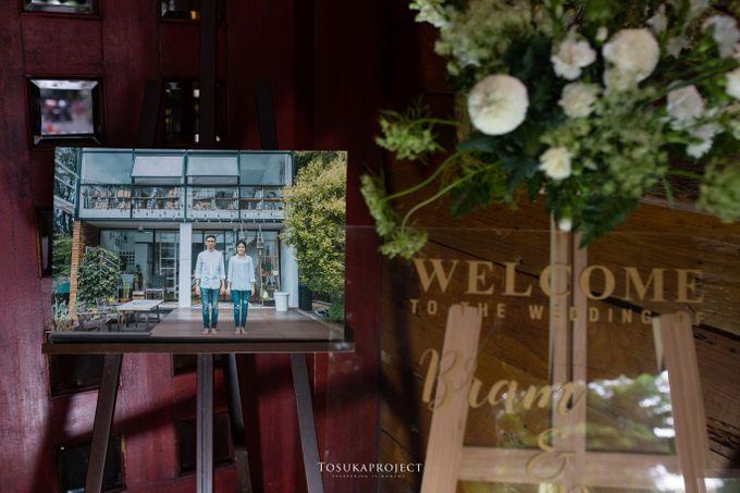 Nana & Bram Wedding Day at Kembang Goela Restaurant - Jakarta Selatan by Cassia Decoration - 029