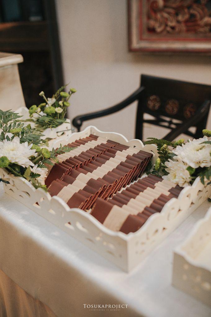Nana & Bram Wedding Day at Kembang Goela Restaurant - Jakarta Selatan by Cassia Decoration - 021