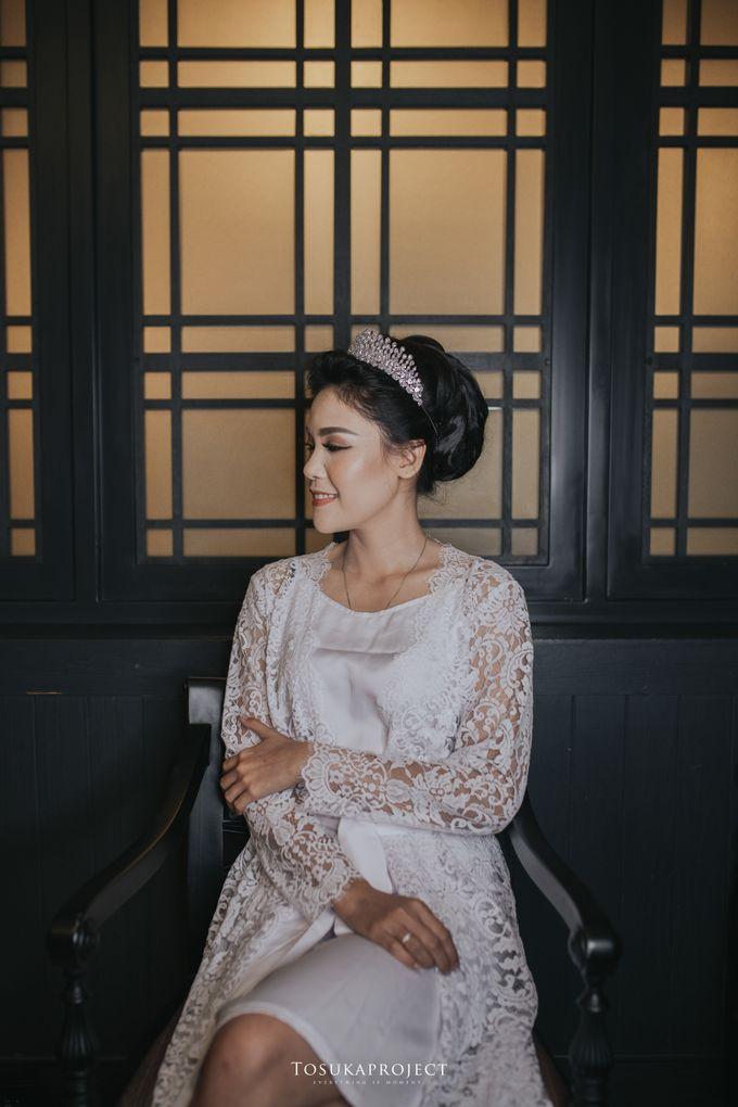 Nana & Bram Wedding Day at Kembang Goela Restaurant - Jakarta Selatan by Cassia Decoration - 019