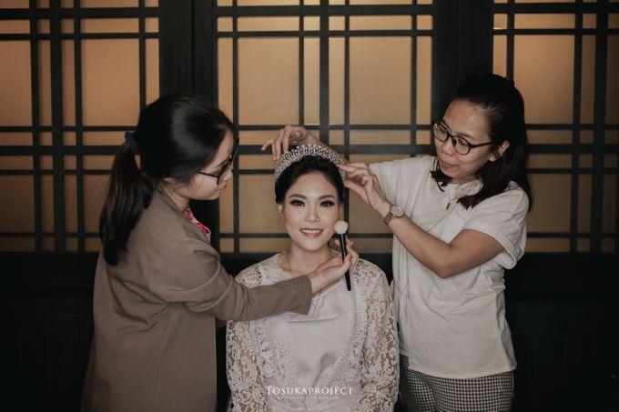 Nana & Bram Wedding Day at Kembang Goela Restaurant - Jakarta Selatan by Cassia Decoration - 017