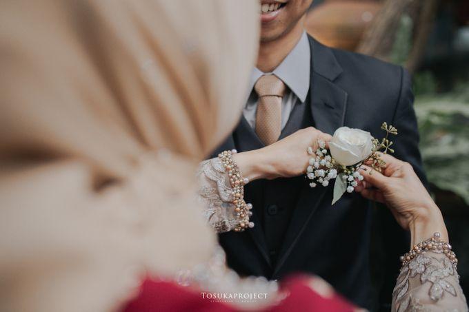 Nana & Bram Wedding Day at Kembang Goela Restaurant - Jakarta Selatan by Cassia Decoration - 016