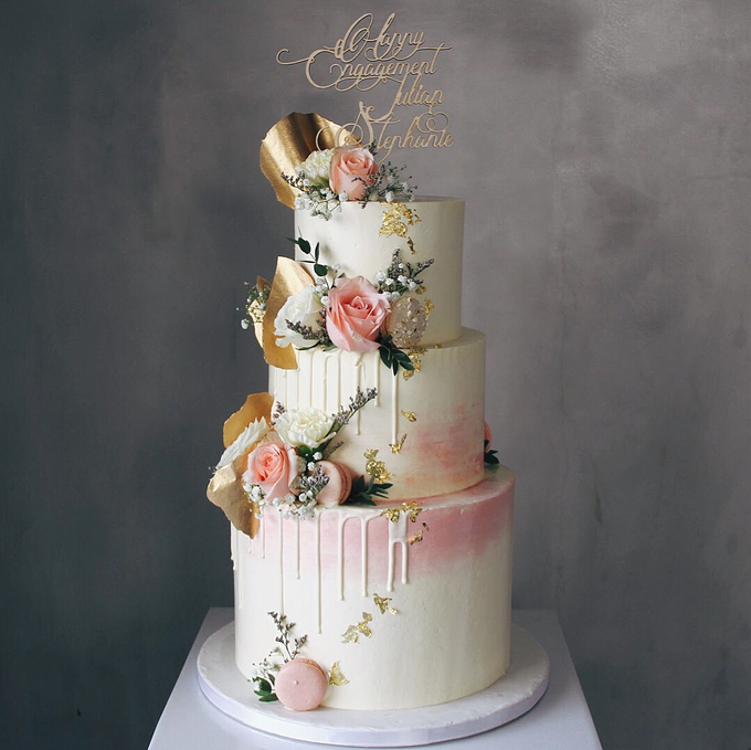 Wedding Cake Collections 2018 by Nana Cake Boutique - 010