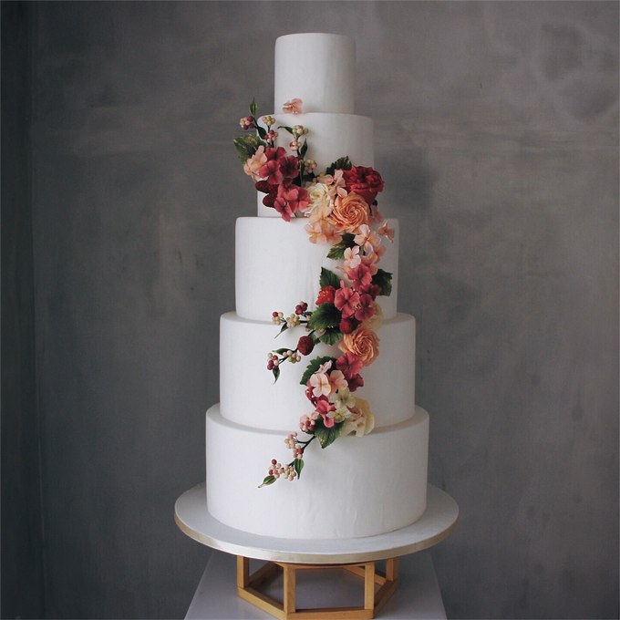 Wedding Cake Collections 2018 by Nana Cake Boutique - 012