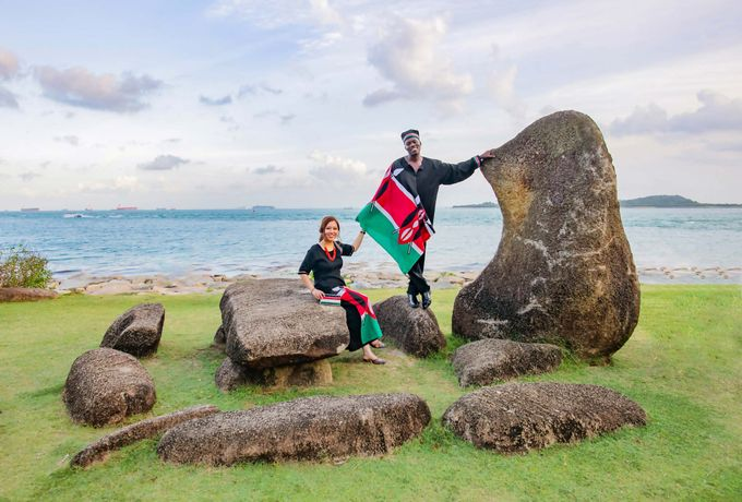 Kenyan-Singaporean Pre-Wedding Shoot at Sentosa Cove by GrizzyPix Photography - 001