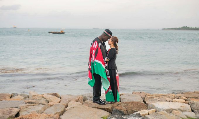 Kenyan-Singaporean Pre-Wedding Shoot at Sentosa Cove by GrizzyPix Photography - 015