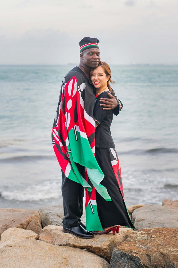 Kenyan-Singaporean Pre-Wedding Shoot at Sentosa Cove by GrizzyPix Photography - 016