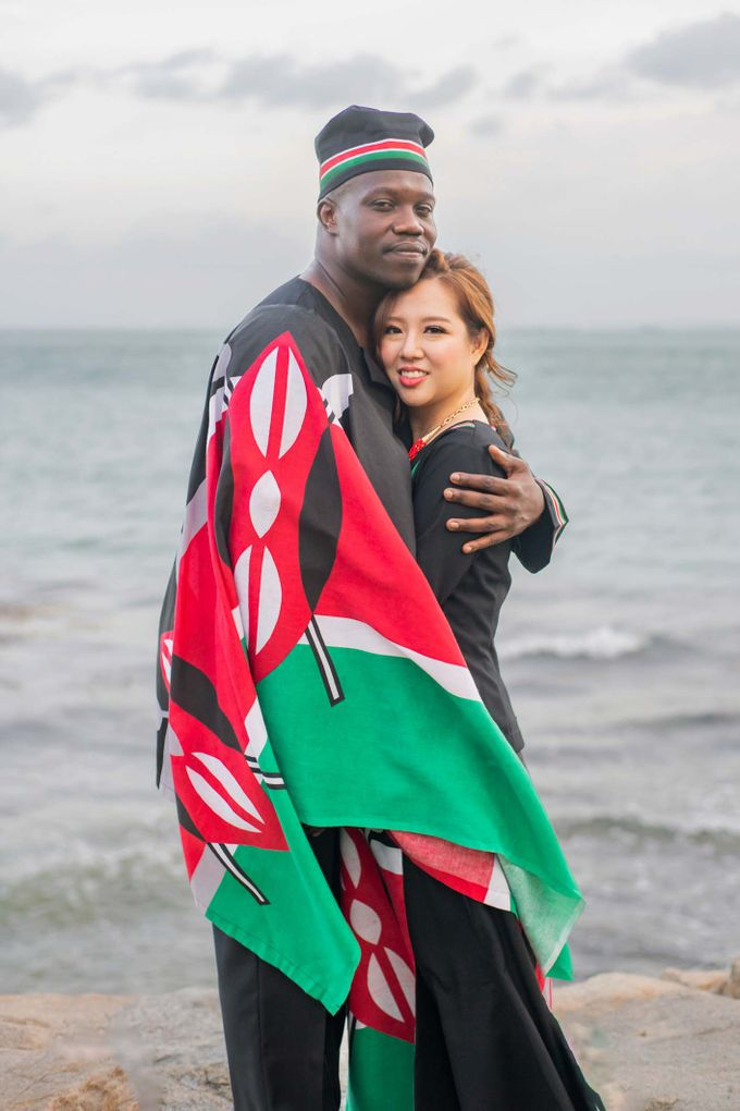Kenyan-Singaporean Pre-Wedding Shoot at Sentosa Cove by GrizzyPix Photography - 017