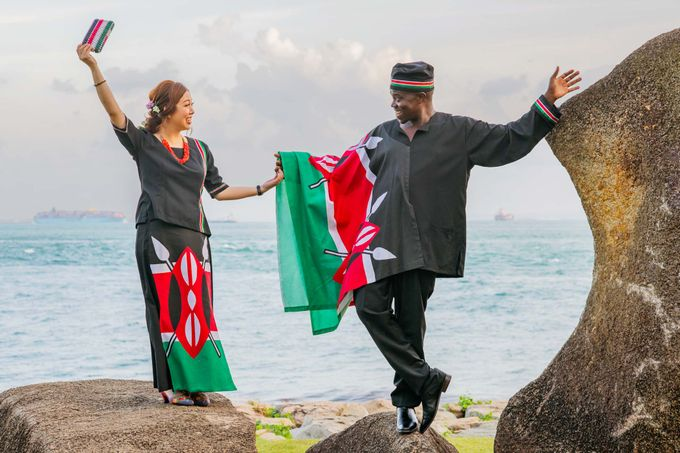 Kenyan-Singaporean Pre-Wedding Shoot at Sentosa Cove by GrizzyPix Photography - 006