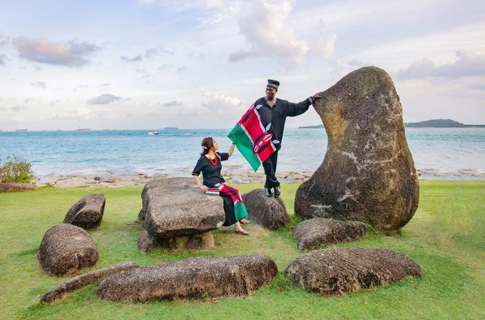 Kenyan-Singaporean Pre-Wedding Shoot at Sentosa Cove by GrizzyPix Photography - 007