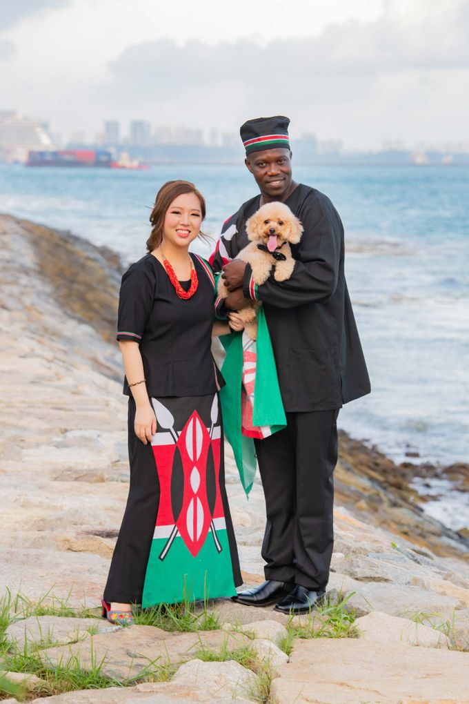 Kenyan-Singaporean Pre-Wedding Shoot at Sentosa Cove by GrizzyPix Photography - 008
