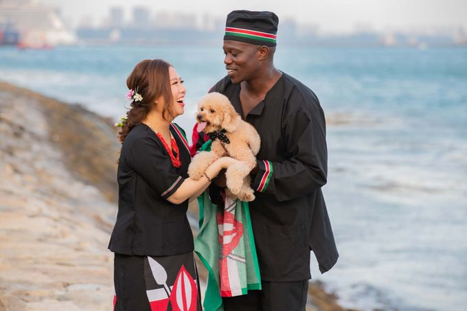 Kenyan-Singaporean Pre-Wedding Shoot at Sentosa Cove by GrizzyPix Photography - 009