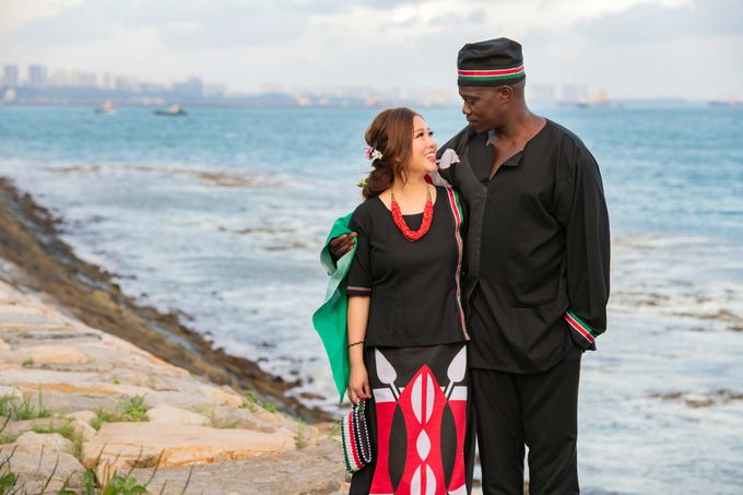 Kenyan-Singaporean Pre-Wedding Shoot at Sentosa Cove by GrizzyPix Photography - 011