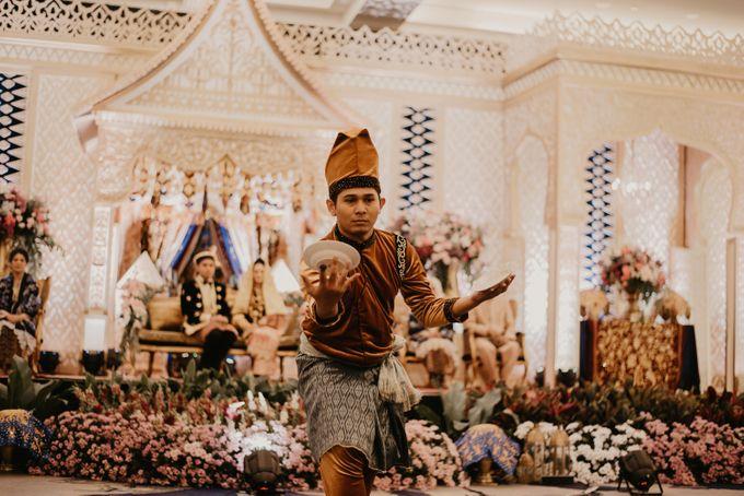 Nasya & Agyl Wedding at Menara Mandiri by IKK Wedding Planner - 034