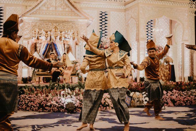 Nasya & Agyl Wedding at Menara Mandiri by IKK Wedding Planner - 036