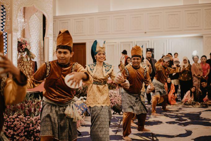 Nasya & Agyl Wedding at Menara Mandiri by IKK Wedding Planner - 037