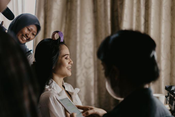 Nasya & Agyl Wedding at Menara Mandiri by IKK Wedding Planner - 006