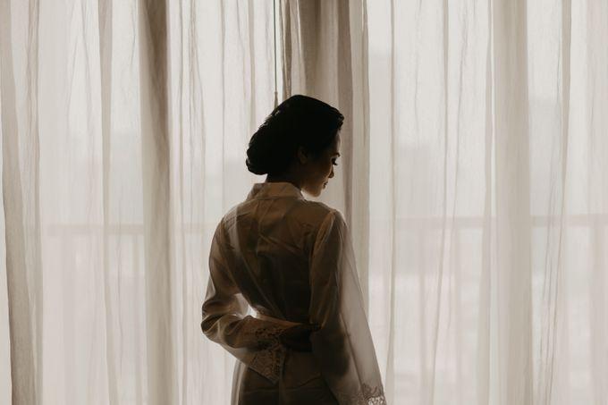 Nasya & Agyl Wedding at Menara Mandiri by IKK Wedding Planner - 007