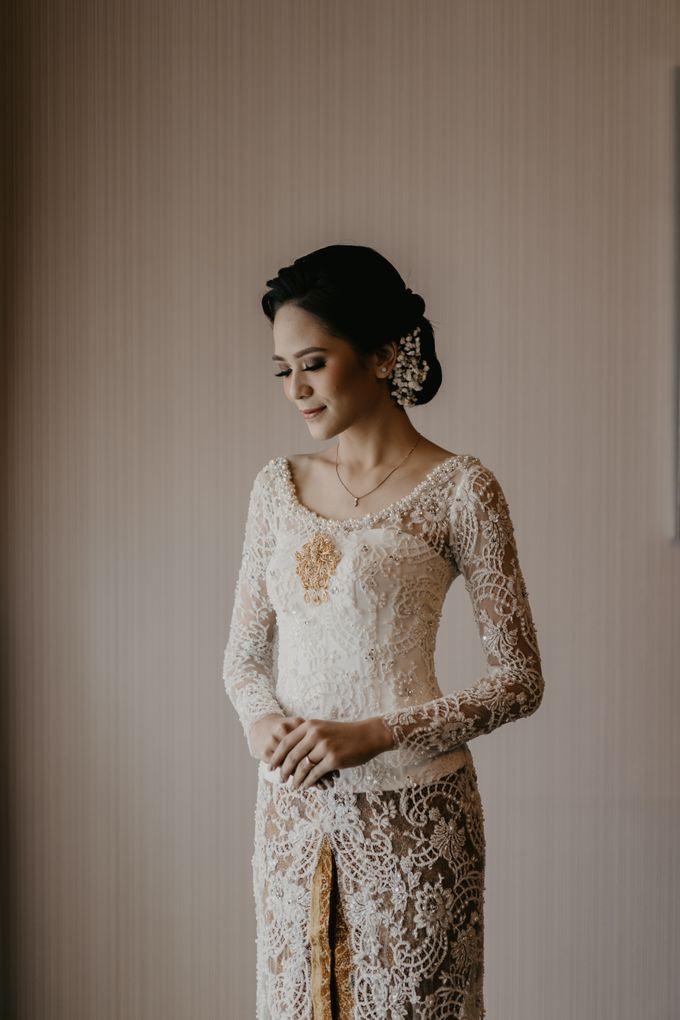 Nasya & Agyl Wedding at Menara Mandiri by IKK Wedding Planner - 012