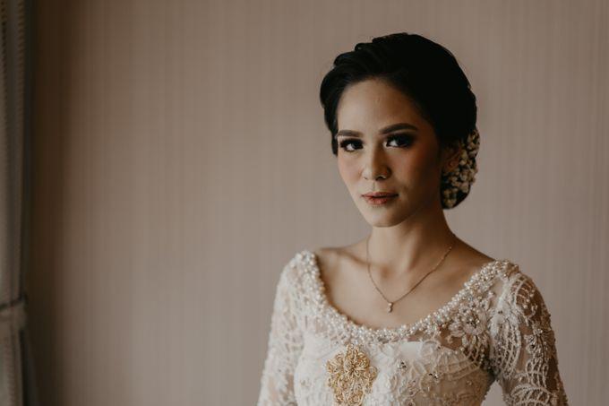 Nasya & Agyl Wedding at Menara Mandiri by IKK Wedding Planner - 013