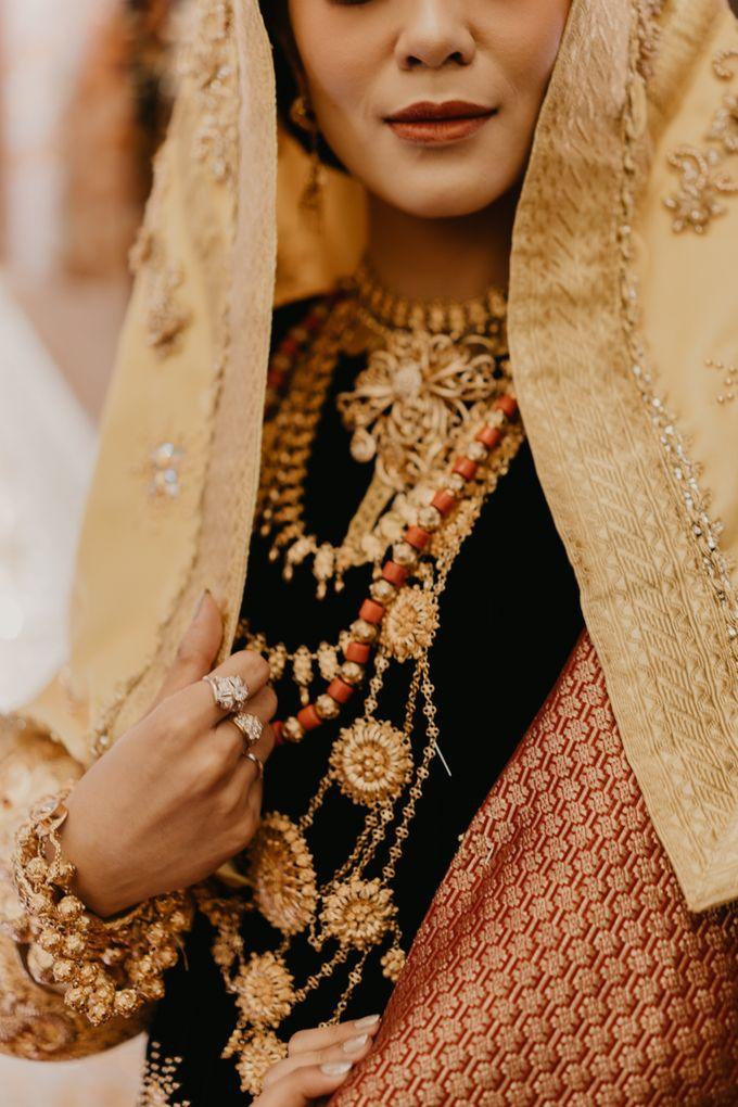 Nasya & Agyl Wedding at Menara Mandiri by IKK Wedding Planner - 015