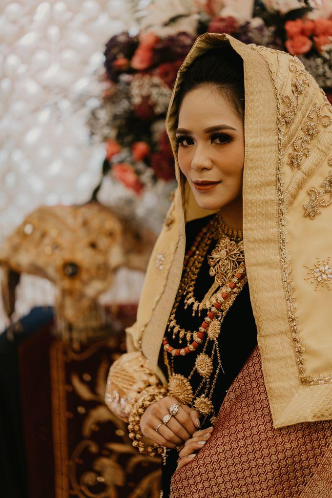 Nasya & Agyl Wedding at Menara Mandiri by IKK Wedding Planner - 016