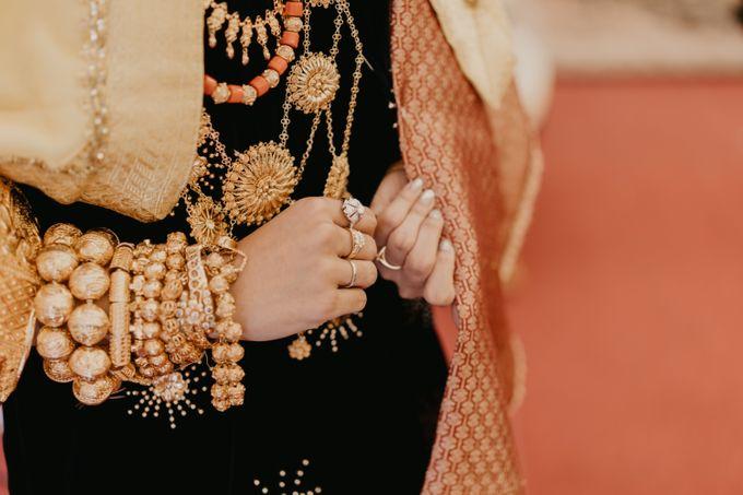 Nasya & Agyl Wedding at Menara Mandiri by IKK Wedding Planner - 017
