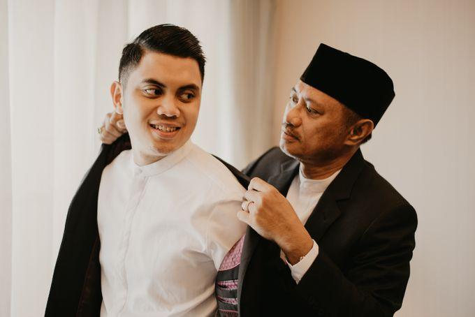 Nasya & Agyl Wedding at Menara Mandiri by IKK Wedding Planner - 018