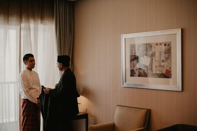 Nasya & Agyl Wedding at Menara Mandiri by IKK Wedding Planner - 019