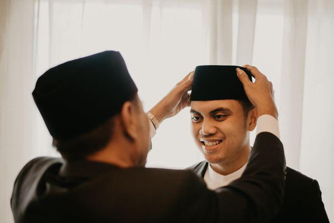 Nasya & Agyl Wedding at Menara Mandiri by IKK Wedding Planner - 020