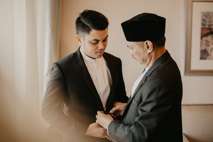 Nasya & Agyl Wedding at Menara Mandiri by IKK Wedding Planner - 023