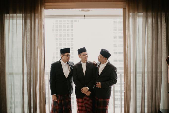 Nasya & Agyl Wedding at Menara Mandiri by IKK Wedding Planner - 024