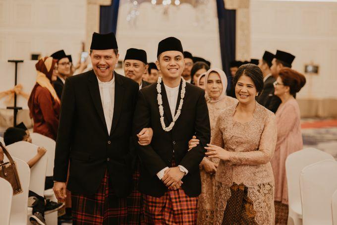 Nasya & Agyl Wedding at Menara Mandiri by IKK Wedding Planner - 026