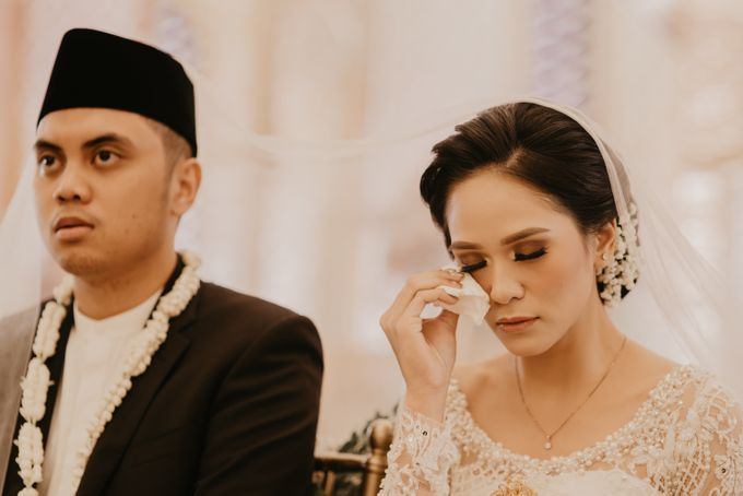 Nasya & Agyl Wedding Photo at Menara Mandiri by IKK Wedding Planner - 036
