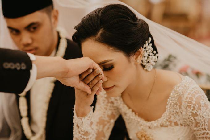 Nasya & Agyl Wedding at Menara Mandiri by IKK Wedding Planner - 030