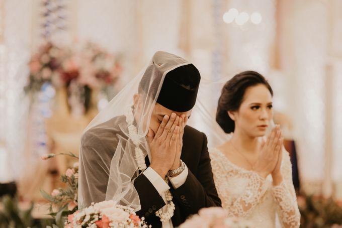 Nasya & Agyl Wedding at Menara Mandiri by IKK Wedding Planner - 031