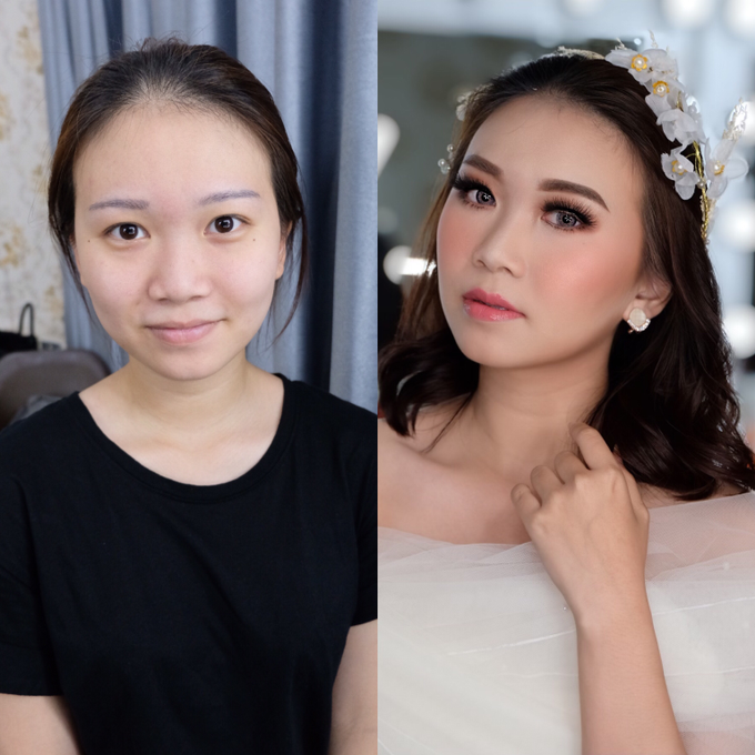 Pre Wedding Makeup  by Nataliang MUA and Academy - 001