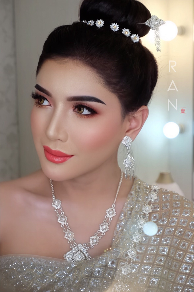 Thai Bridal makeup  by Natcha Makeup Studio - 001