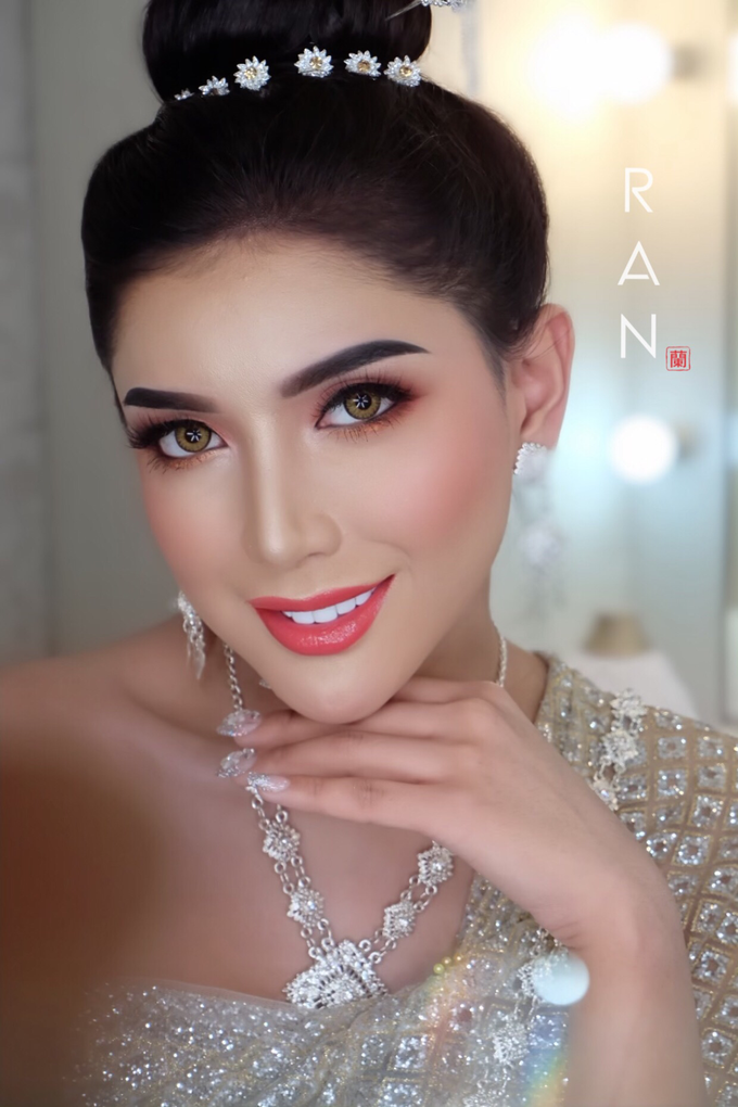 Thai Bridal makeup  by Natcha Makeup Studio - 002