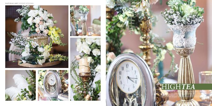 Reception Styling by Natural Art Flowers and Decors - 037