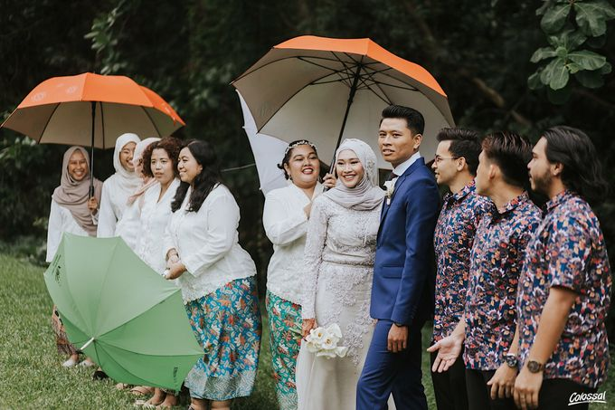 Actual Day Wedding of Naufal and Syahirah by Colossal Weddings - 010